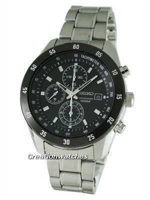 Seiko Chronograph SNDC47P1 SNDC47 SNDC47P Men's Watch