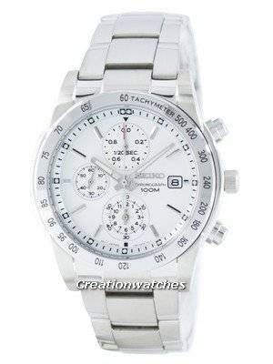 Seiko Quartz Chronograph Tachymeter SNDD03 SNDD03P1 SNDD03P Men's Watch