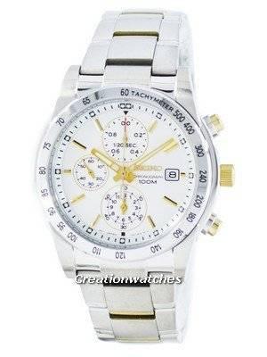Seiko Quartz Chronograph Tachymeter SNDD07 SNDD07P1 SNDD07P Men's Watch