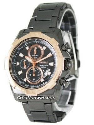 Seiko Quartz Chronograph SNDD54P1 SNDD54P Mens Watch