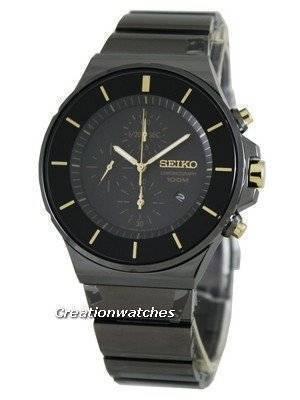 Seiko Quartz Chronograph SNDD57P1 SNDD57P SNDD57