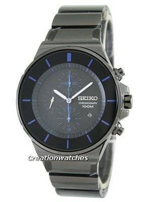 Seiko Quartz Chronograph SNDD59 SNDD59P1 SNDD59P Men's Watch
