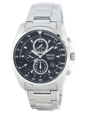 Seiko Quartz Chronograph Tachymeter SNDD63 SNDD63P1 SNDD63P Men's Watch