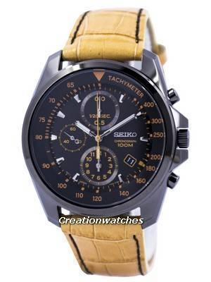 Seiko Sports Quartz Chronograph 100M SNDD69 SNDD69P1 SNDD69P Men's Watch