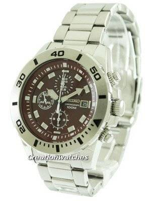Seiko Chronograph SNDE15 SNDE15P1 SNDE15P Men's Watch