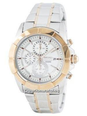 Seiko Lord Quartz Chronograph SNDE72 SNDE72P1 SNDE72P Men's Watch