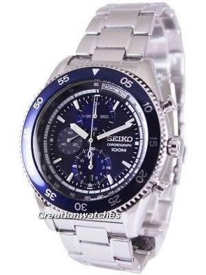Seiko Chronograph Tachymeter 100M SNDG55 SNDG55P1 SNDG55P Men's Watch