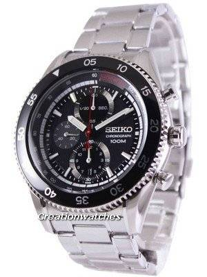 Seiko Chronograph Tachymeter 100M SNDG57 SNDG57P1 SNDG57P Men's Watch