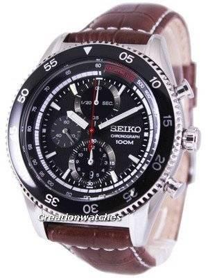 Seiko Chronograph Tachymeter 100M SNDG57P2 Men's Watch