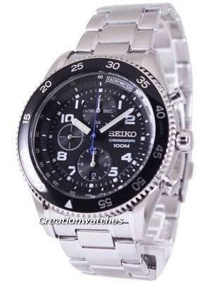 Seiko Chronograph Tachymeter 100M SNDG59 SNDG59P1 SNDG59P Men's Watch