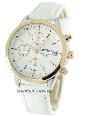 Seiko Quartz Chronograph SNDY42P2 SNDY42 SNDY42P Womens Watch