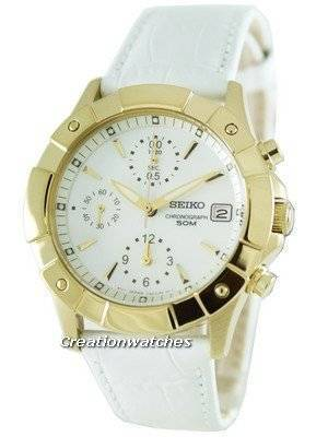 Seiko Chronograph SNDZ66P1 SNDZ66 SNDZ66P Ladies Watch