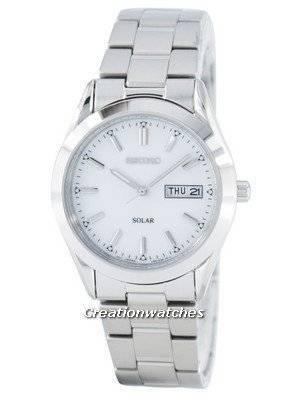 Seiko Solar SNE037 SNE037P1 SNE037P Men's Watch