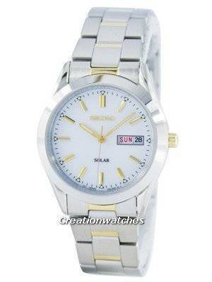 Seiko Solar SNE041 SNE041P1 SNE041P Men's Watch