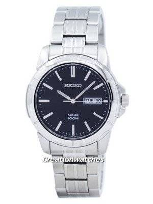 Seiko Solar Quartz SNE093 SNE093P1 SNE093P Men's Watch