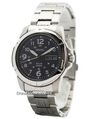 Seiko Solar Quartz SNE095 SNE095P1 SNE095P Men's Watch