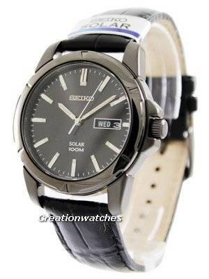 Seiko Solar SNE097 SNE097P1 SNE097P Men's Watch
