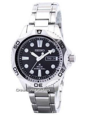 Seiko Solar Mens Scuba Diver's Sports Watch SNE107 SNE107P1 SNE107P Men's Watch