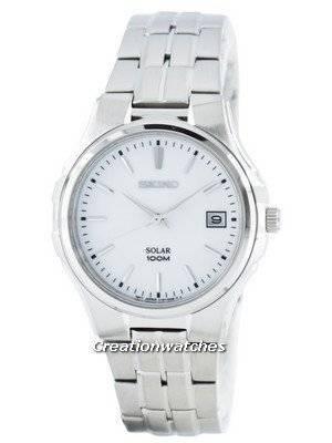 Seiko Solar SNE131 SNE131P1 SNE131P Men's Watch