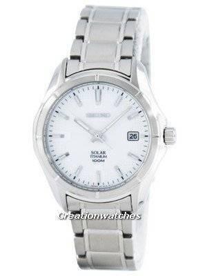Seiko Solar Titanium SNE139 SNE139P1 SNE139P Men's Watch