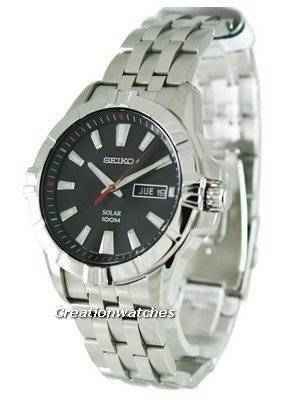 Seiko Solar SNE161P1 SNE161P SNE161 Mens Watch