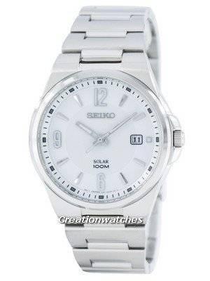 Seiko Solar SNE209 SNE209P1 SNE209P Men's Watch
