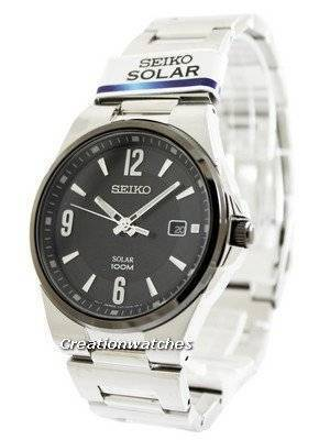 Seiko Solar SNE211P1 SNE211P SNE211 Men's Watch
