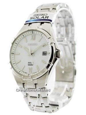Seiko Solar SNE213 SNE213P1 SNE213P Men's Watch