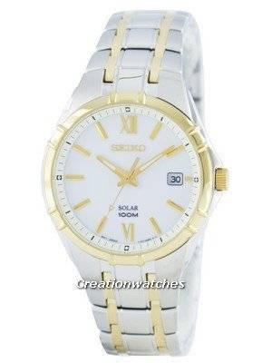 Seiko Solar SNE216 SNE216P1 SNE216P Men's Watch