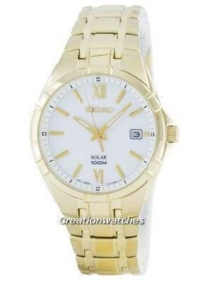 Seiko Solar SNE218 SNE218P1 SNE218P Men's Watch