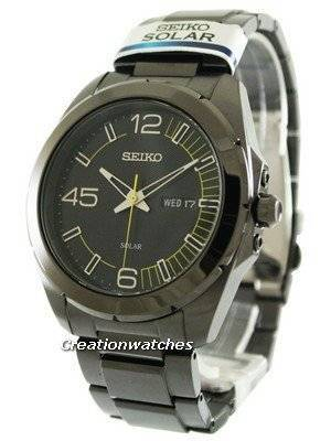 Seiko Solar SNE287 SNE287P1 SNE287P Men's Watch