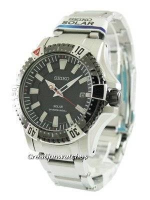 Seiko Solar Diver's SNE295 SNE295P1 SNE295P