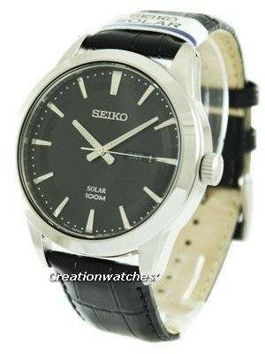 Seiko Solar Powered 100M SNE363P2 Men's Watch