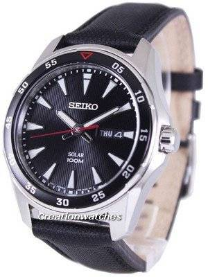 Seiko Solar 100M SNE393P2 Men's Watch
