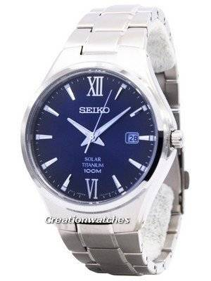 Seiko Solar Titanium Power Reserve SNE407 SNE407P1 SNE407P Men's Watch