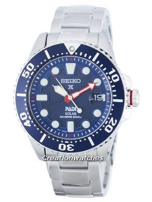 Seiko Prospex PADI Special Edition Solar Diver's 200M SNE435P Watch $189.00 AC W/ Free DHL shipping@ online deal