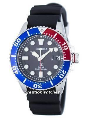 Seiko Prospex Solar Diver's 200M SNE439 SNE439P1 SNE439P Men's Watch