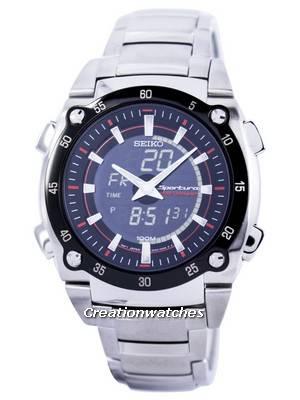 Seiko Sportura Chronograph SNJ019 SNJ019P1 SNJ019P Men's Watch