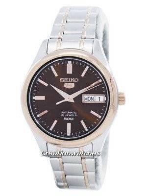 Seiko 5 Automatic 21 Jewels SNK878 SNK878K1 SNK878K Women's Watch