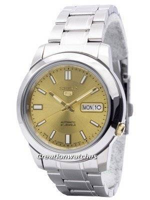 Seiko 5 Automatic 21 Jewels Japan Made SNKK13 SNKK13J1 SNKK13J Men's Watch