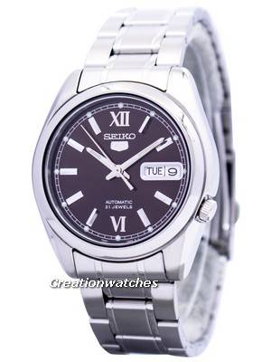 Seiko 5 Automatic 21 Jewels SNKL53 SNKL53K1 SNKL53K Men's Watch