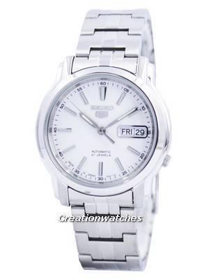 Seiko 5 Automatic 21 Jewels Japan Made SNKL75 SNKL75J1 SNKL75J Men's Watch