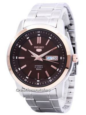 Seiko 5 Automatic 21 Jewels SNKM90 SNKM90K1 SNKM90K Men's Watch