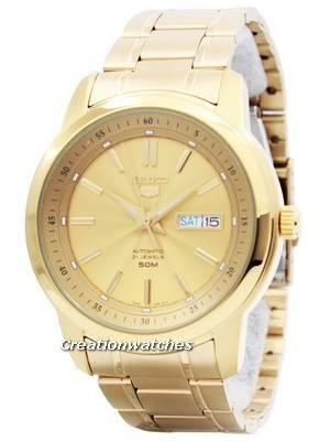 Seiko 5 Automatic 21 Jewels SNKM94 SNKM94K1 SNKM94K Men's Watch