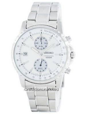 Seiko Chronograph Quartz Tachymeter SNN063 SNN063P1 SNN063P Men's Watch