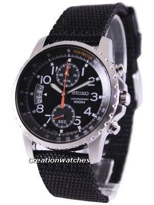 Seiko Tachymeter Chronograph SNN079P2 Men's Watch