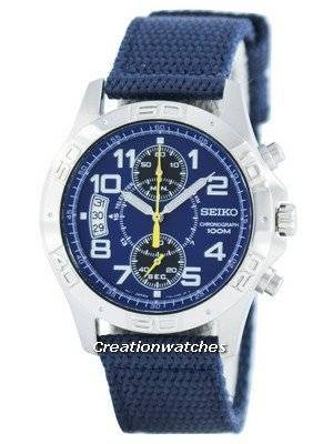 Seiko Chronograph Quartz Telemeter SNN105 SNN105P1 SNN105P Men's Watch
