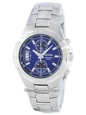 Seiko Chronograph Quartz SNN127 SNN127P1 SNN127P Men's Watch