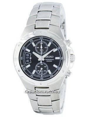 Seiko Chronograph Quartz SNN131 SNN131P1 SNN131P Men's Watch