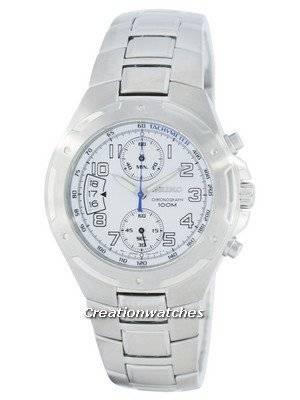 Seiko Chronograph Quartz Tachymeter SNN135 SNN135P1 SNN135P Men's Watch
